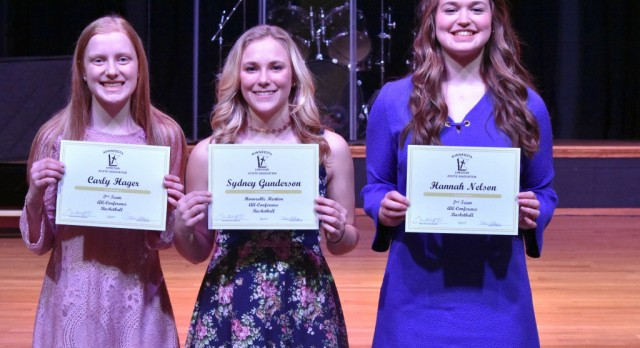 Girls Basketball Post Season Awards