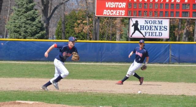 Varsity Baseball beat Plymouth  1-0