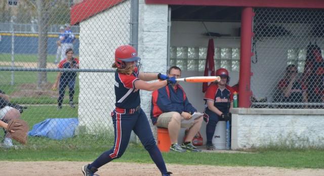 John Glenn High School (Westland) Varsity Softball beat Dearborn Heights Crestwood 7-0