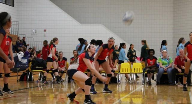 Varsity Volleyball @ AA Huron Invite Photos