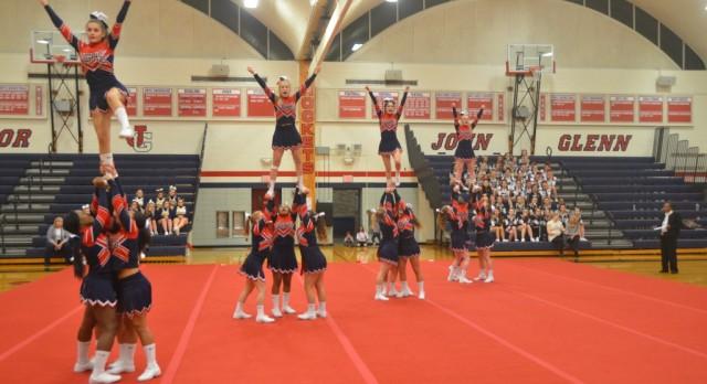 Varsity Cheer Wins Home Quad