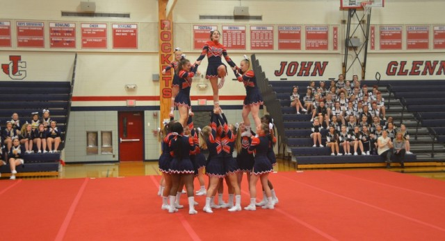 Cheer Captures Division 1 Title at Howell Invitational