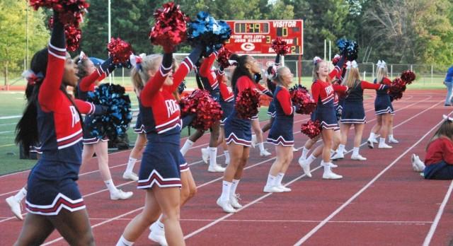 Varsity Cheer Mott Game