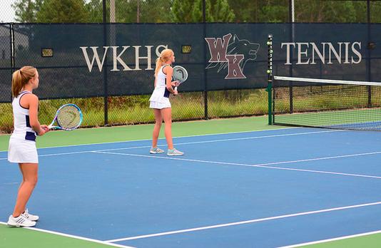 Girls Tennis Drops Match to Gilbert