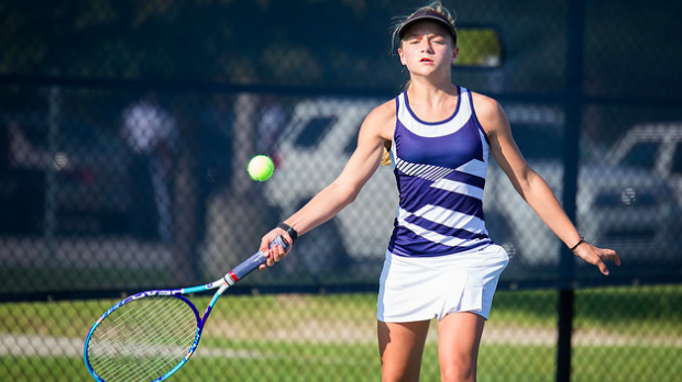 Varsity Tennis falls to Blythewood High School