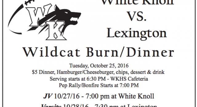 Wildcat Burn and Dinner