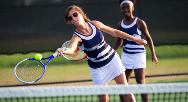 Girls Varsity Tennis falls to River Bluff
