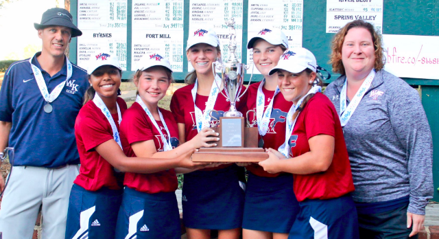 Girls Golf Finish Runner-up in State Tourney