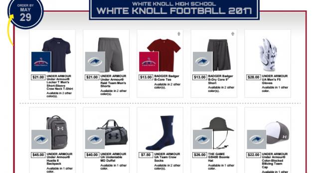 Football Team Store