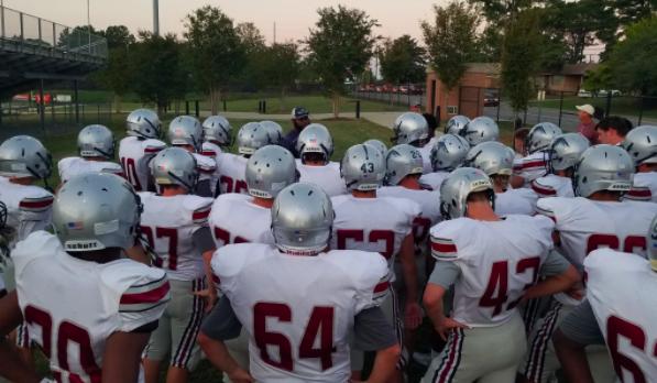 B-Team and JV Football Down Lexington
