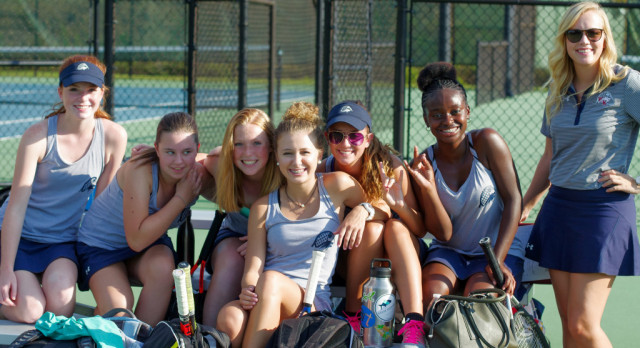 Girls Tennis Knocks off Brookland-Cayce