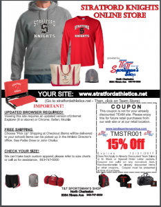 booster club flyer