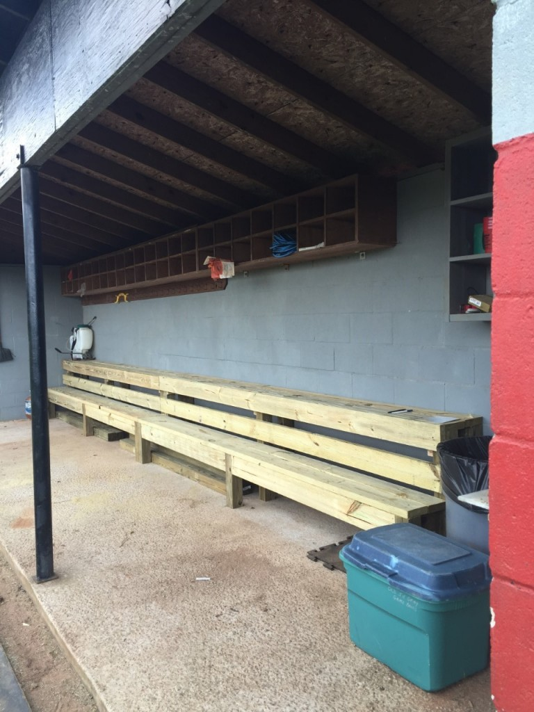 game at in stock sport baseball player on games the dugout image a online bench