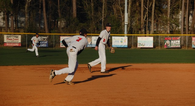 Stratford High School Varsity Baseball falls to Wando High School 11-8