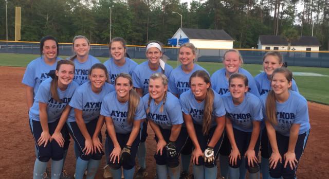 Aynor High School Varsity Softball beat Gilbert High School 1-0