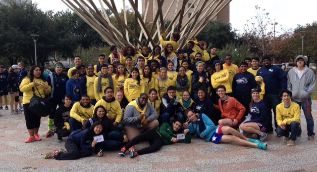 YES Prep's Annual College Rush Marathon