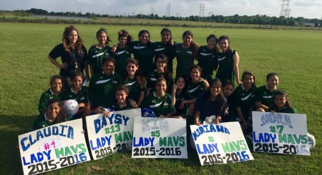Lady Mavs Soccer C/O 2016!