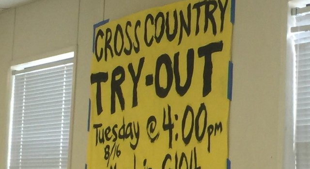 Tryouts For 2016 Fall Sports!