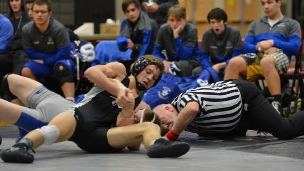 Dylan Dwyer pins Salem kid