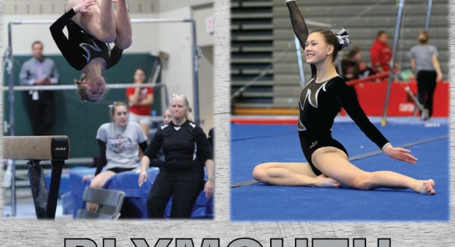 Plymouth Gymnastics Qualifies for States