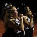 Girls Varsity Sideline Cheer Eisenhower Game (Photos: Michael Vasilnek)