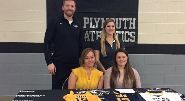 Two Plymouth Athletes Sign