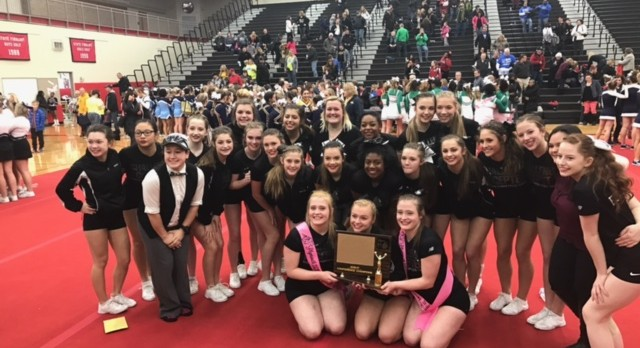 Plymouth Competitive Cheer Wins KLAA