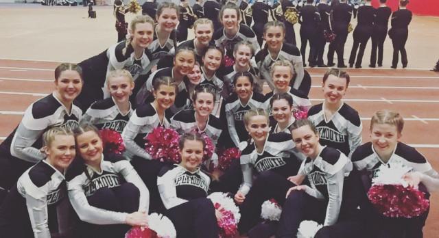 Varsity Pom: 2017 MPA State Runner Up!
