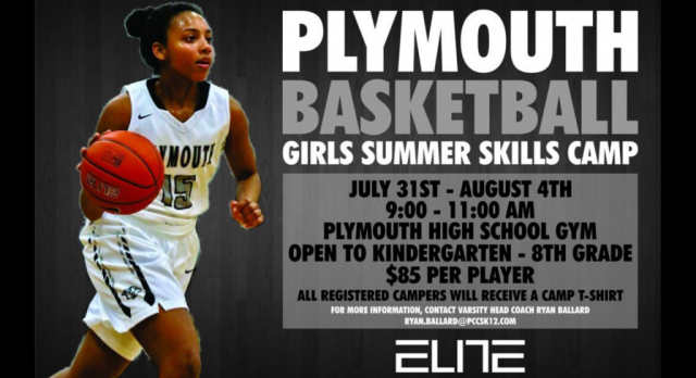 Plymouth Wildcats Girls Basketball Camp