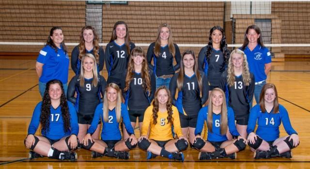 Kearsley High School Girls Varsity Volleyball beat Carman-Ainsworth High School 3-1