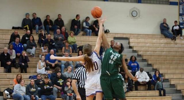 Kearsley High School Girls Varsity Basketball beat Northwestern High School 44-39