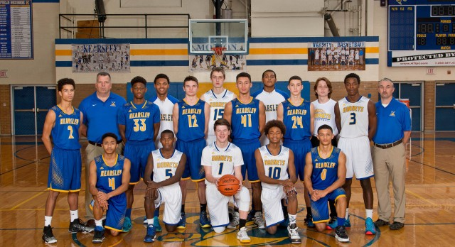 Kearsley High School Boys Varsity Basketball beat Linden 65-59