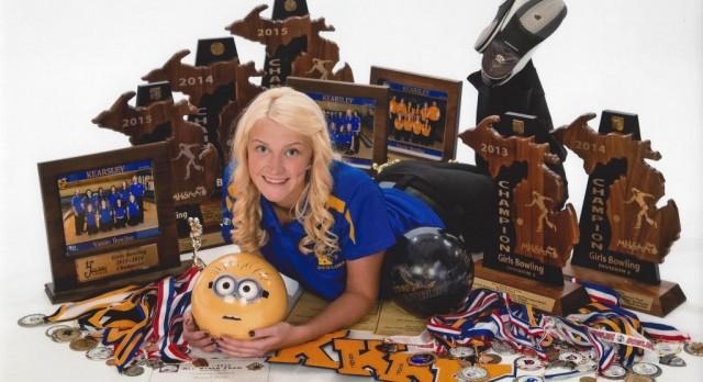 Hannah Ploof named Flint Metro League Kiwanis Scholar-Athlete of the Month for February
