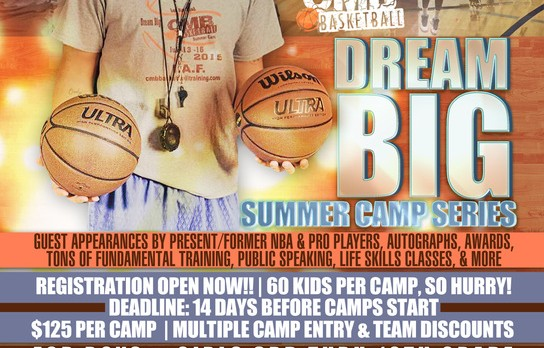 CMB basketball camp coming to Kearsley on June 20th