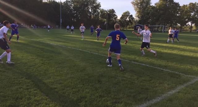 Kearsley High School Boys Varsity Soccer beat Durand High School 8-0