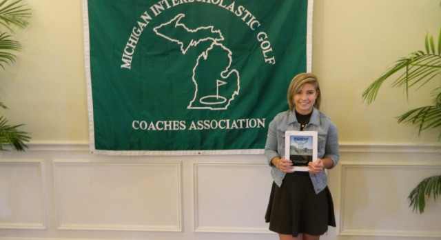 Sarah Streit named to Girls Golf academic all-state team