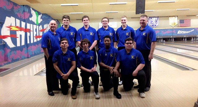 Kearsley High School Boys Varsity Bowling beat Fenton High School 29-1
