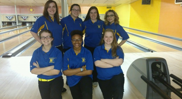 Eight is great!  Girls bowling wins eighth consecutive Flint Metro League title