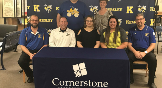 Magan Willingham signs with Cornerstone University