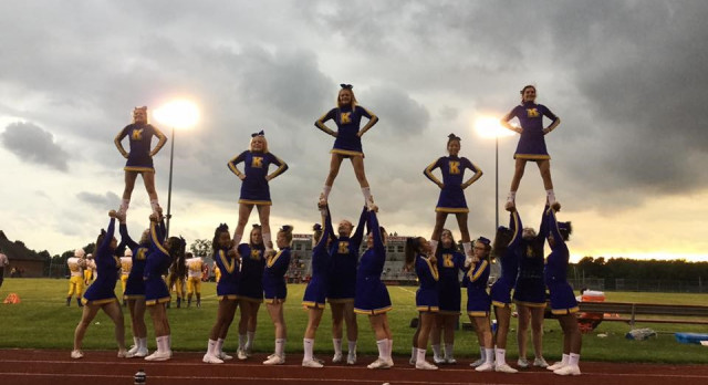 Sideline Cheerleading tryouts to take place on Sunday, May 21st