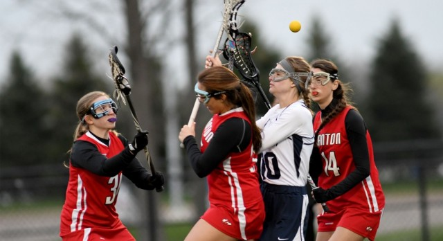 Canton Girls Lacrosse bumped from Playoffs by Saline