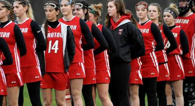 Canton Girls Lacrosse Edge Swartz Creek