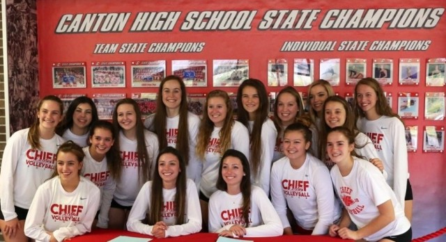 Volleyball – KLAA Division Champs!
