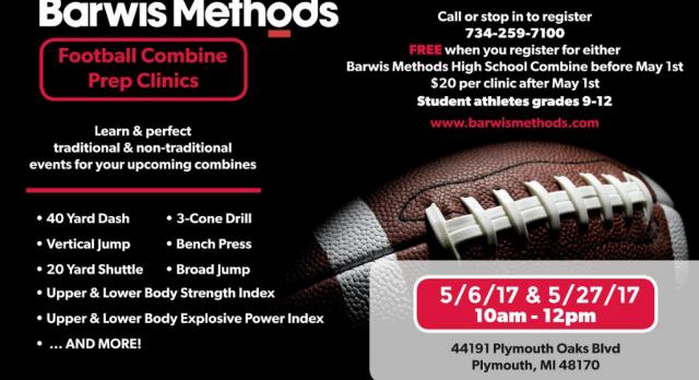 Barwis Methods – High School Combine