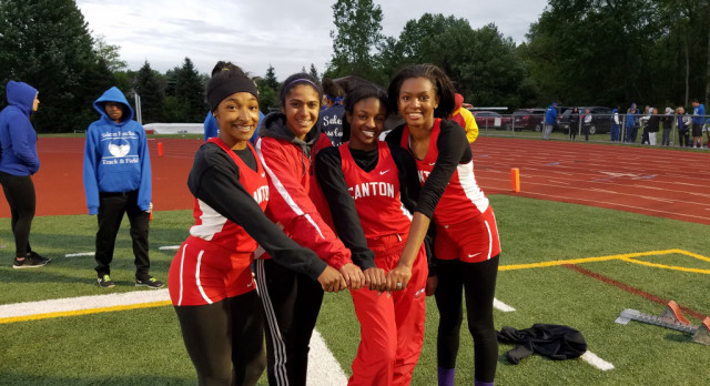 Canton Girls Track State Qualifiers
