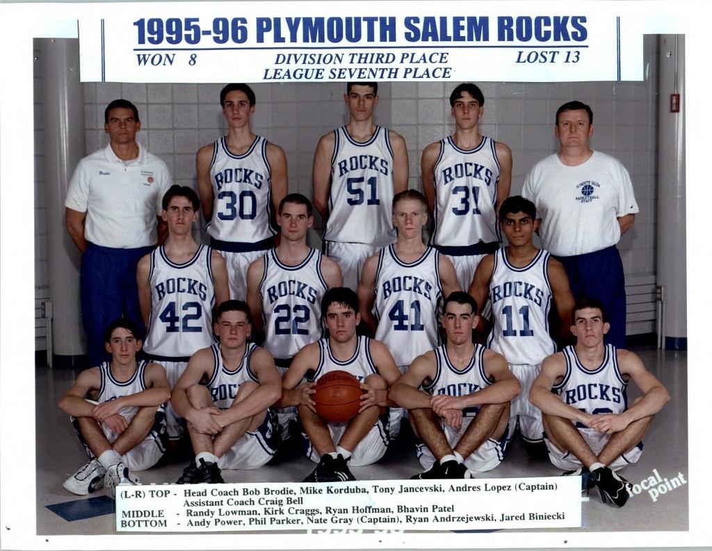 Boys Basketball 1995-1996
