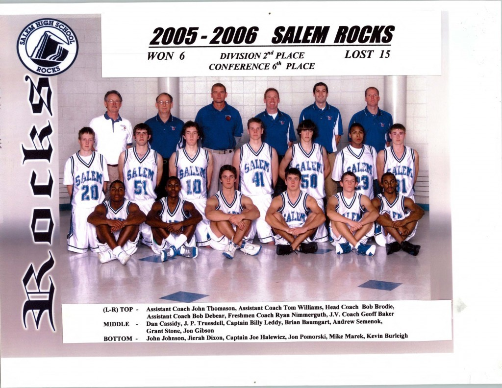 Boys Basketball 2005-2006