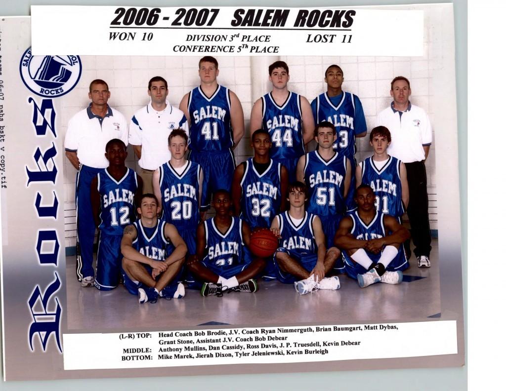Boys Basketball 2006-2007