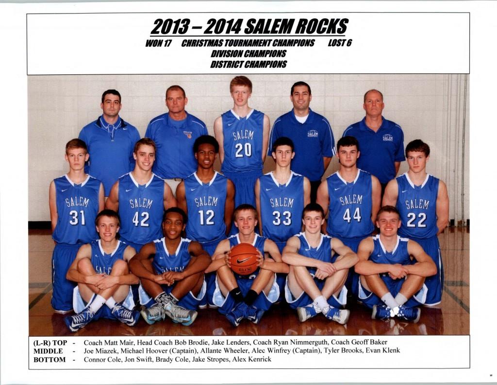Boys Basketball 2013-2014