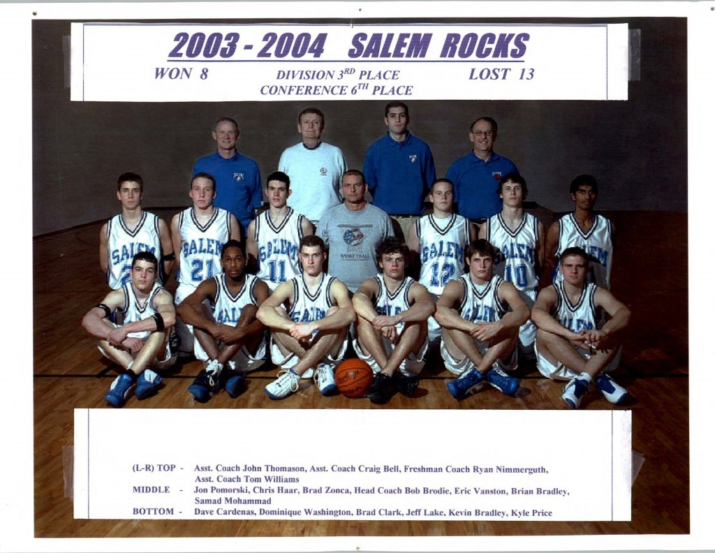 Boys Basketball 2003-2004